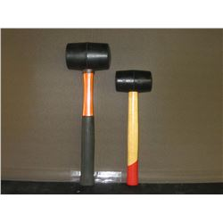 New rubber mallets