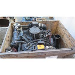 Mercury Engine 454 Block 7.6 Liter, 8 Cylinder w/Exhaust Pipe