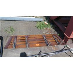 Custom Wood Swim Step 24 L x 22 W