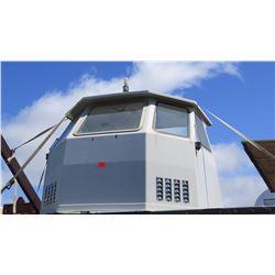 "Fiberglass Cabin 117""L x 98""W x 81""H"