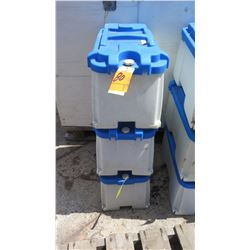 Qty 3 Blue Sea Systems Battery Boxes