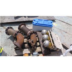 Contents of Pallet: Misc. Marine Equipment