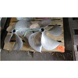 "Qty 2 Pulse Drive Propellers - 22"" Diameter, 1.997"" Shaft"