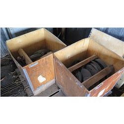 2 Boxes of Brass Couplings