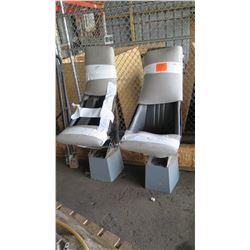 Qty 2 Ullman Shock Seats, Unused