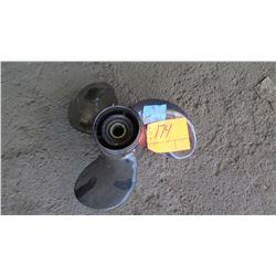 "Michigan Aluminum Propeller for 75-175HP Engine, 14"" Diameter, 11 Deg. Pitch"