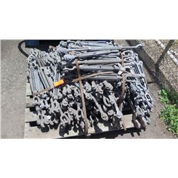 Contents of Pallet: Galvanized Turnbuckles