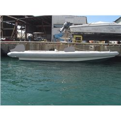 Revenger Rigid Hull Inflatable 33' Bare Boat, No Engines