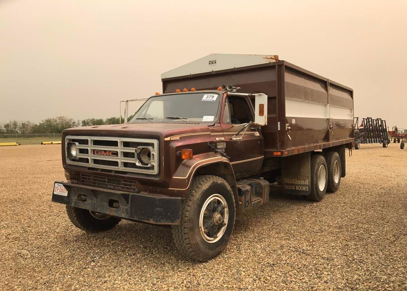 1979 Gmc 7000 T  A Grain Truck