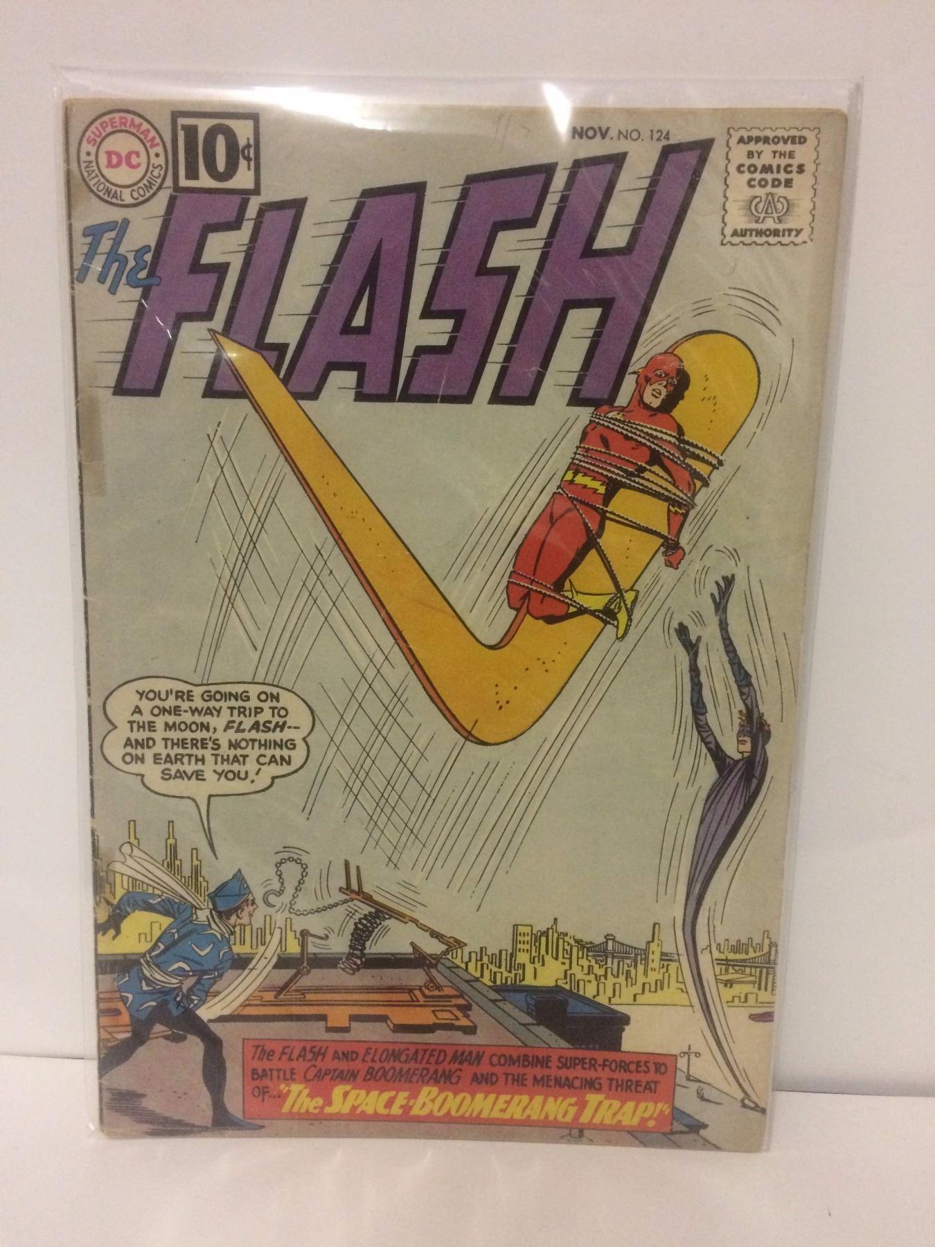 Flash 124 Dc Comics 1961 Elongated Man App Infantino