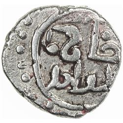 GREAT MONGOLS: Anonymous, ca. 1230s-1250s, AR dirham (4.19g), NM, ND. VF