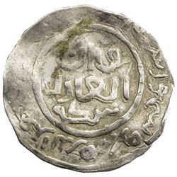 GREAT MONGOLS: Anonymous, AR dirham (2.09g), Badakhshan, DM. VF