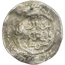 GREAT MONGOLS: Anonymous, AR dirham (1.50g), Badakhshan, DM. VF