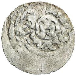 GOLDEN HORDE: Toda Mangu, 1280-1287, AR dirham (1.58g), Qrim, AH683. EF