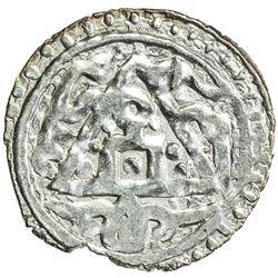 GOLDEN HORDE: Toda Mangu, 1280-1287, AR dirham (1.79g), Qrim, ND. VF-EF