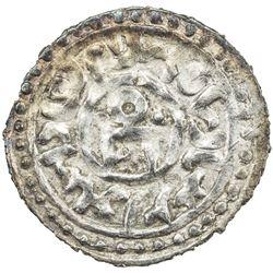 GOLDEN HORDE: Toda Mangu, 1280-1287, AR dirham (1.66g), Qrim, AH683. EF