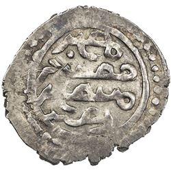 GOLDEN HORDE: Tole Buqa, 1287-1290, AR dirham (1.59g), Qrim, ND. VF-EF