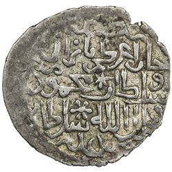 ILKHAN: Ghazan Mahmud, 1295-1304, AR dirham (2.29g), Akshehir (Aqshahr), AH(6)99. VF-EF