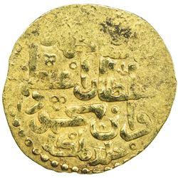 ILKHAN: Ghazan Mahmud, 1295-1304, AV dinar (3.85g) (Tabriz), DM. EF