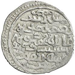 ILKHAN: Ghazan Mahmud, 1295-1304, AR dirham (2.31g), Dalujeh, AH699. VF-EF