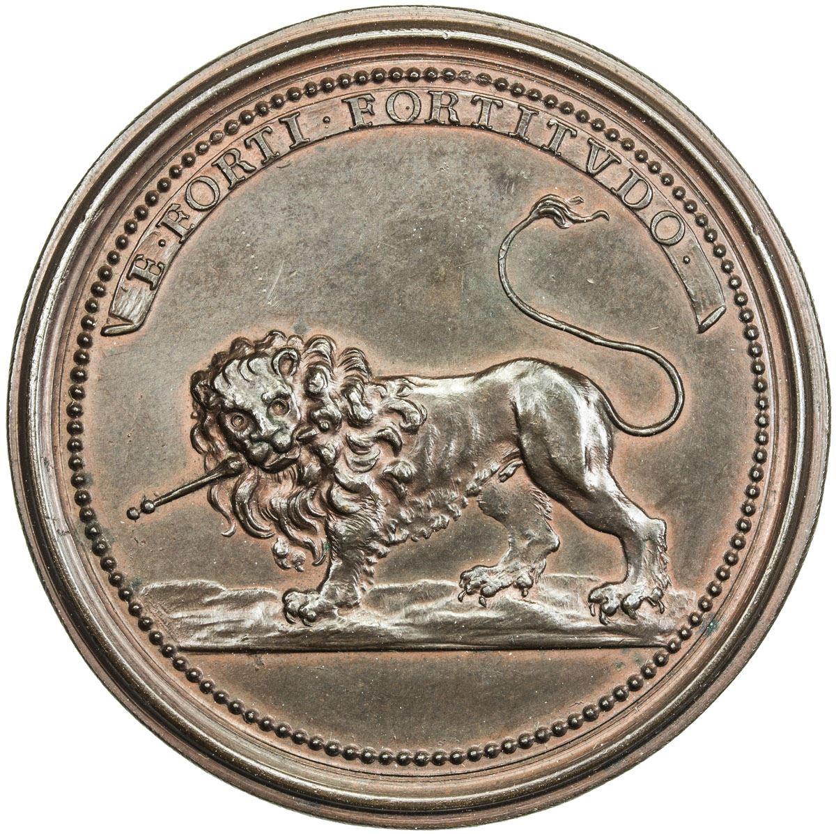 Lorraine Ae Medal 3874g Nd Ca 1730 Unc