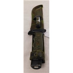 Spanish Military Knife w/Piggyback