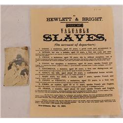 Black Memorabilia Historical Items