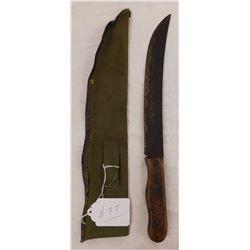 Antique Remington Camp Knife