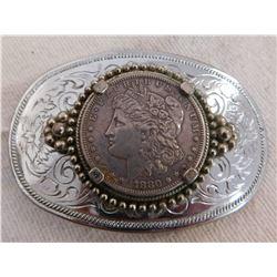 Morgan Silver Dollar Buckle