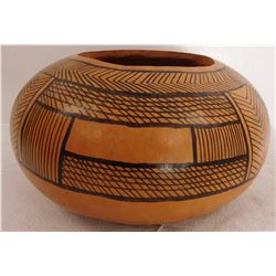 Native American Painted Gourd