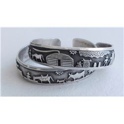 2 Navajo Storyteller Bracelets