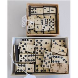 Group of Antique Dominoes