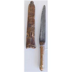 African Knife & Sheath