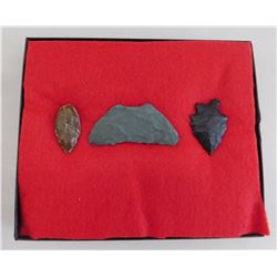 California Paleo Crescent Flint Collection