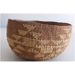 Hupa Basketry Hat