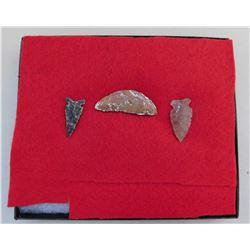 California Paleo Crescent & Artifacts