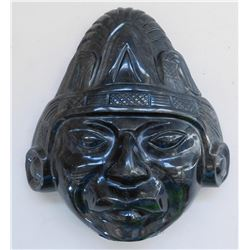 Obsidian Mayan-style Mask