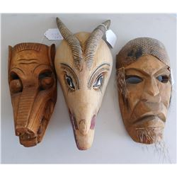3 Mexican Masks