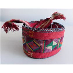 Antique Belt Weaving