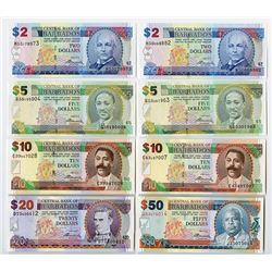 Central Bank of Barbados. 2009-2012 Issues.