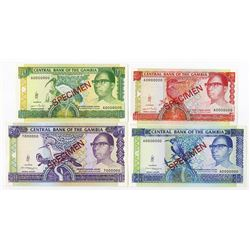 Central Bank of the Gambia, 1989-1991, Specimen Quartet