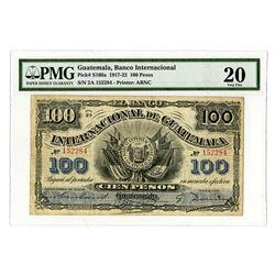 Internacional De Guatemala, 1920 Issued Banknote.