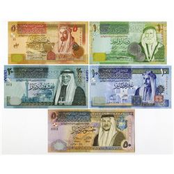 Central Bank of Jordan, 2011-2014, Issued Replacement Set