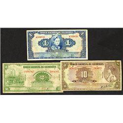 Banco Nacional de Nicaragua. 1945-51 Issues.