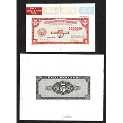 Central Bank of the Philippines Essay Face & Back Banknote.