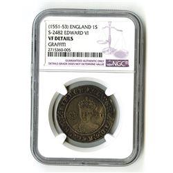 England: Edward VI, 1547-1553, 1 Shilling