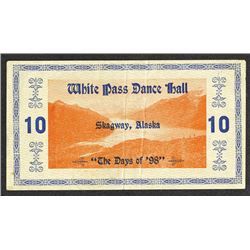 White Hall Dance Hall ND (ca.1900-1920) Advertising Scrip Note