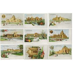 Official Souvenir Cards from St. Louis Worlds' Fair 1904