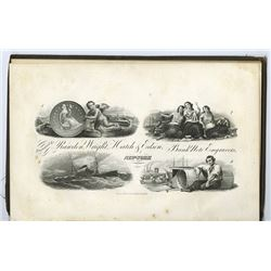 How to Detect Counterfeit Bank Notes 1856, with 4 Plates by Rawdon, Wright, Hatch & Edson.