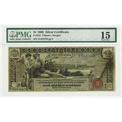 U.S. Silver Certificate, $1, 1896, Fr#224, Educational Note.